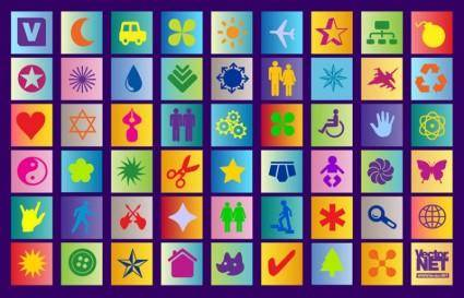 Colorful Icon Vectors