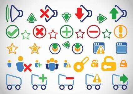 free vector Clip Art Icons