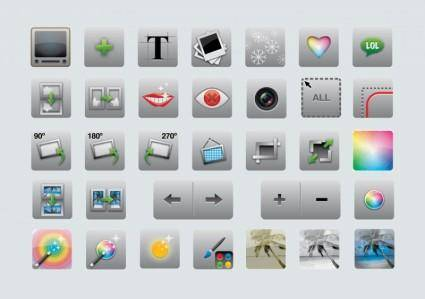 free vector Editing Icons