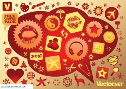 free vector Free Vector Icon Graphics
