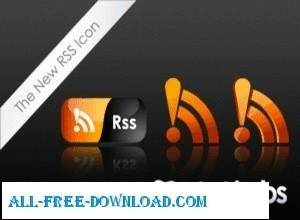 free vector New RSS Icon