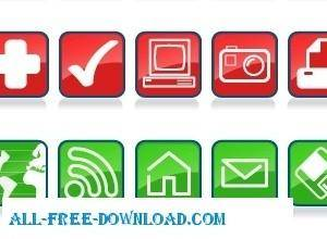 free vector CraigSoup Glossy Icons