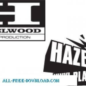 free vector Hazelwood Logos