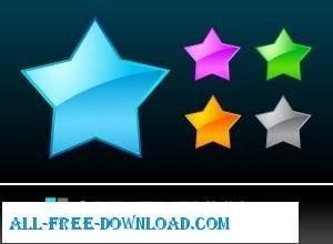 free vector Star Vectors Adobe ai