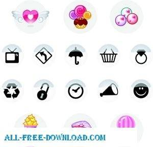 free vector Free Tiny Vector Icons