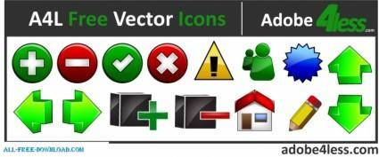 A4L Free Vector Icons