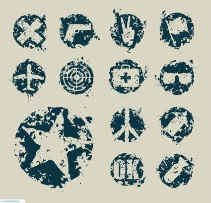 free vector Grunge design elements