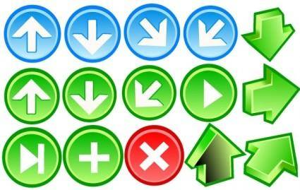 free vector Arrow Icons