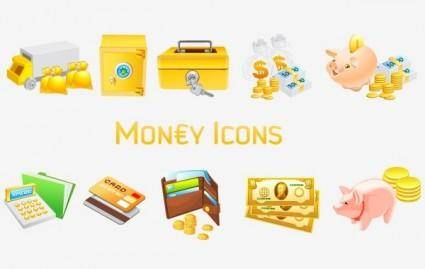 free vector Money [Vista] Icons