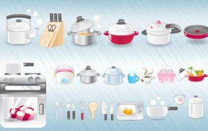 free vector Kitchen Icons