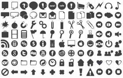 free vector 120 free new icons