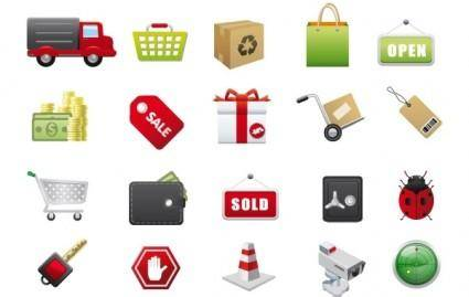 free vector E-Commerce Vector Icons
