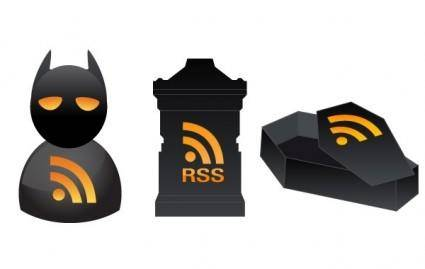 3 Halloween RSS Icons