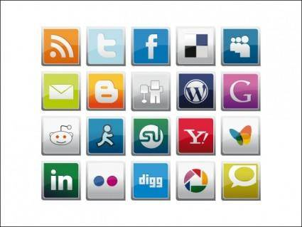 free vector Social Icons Pack
