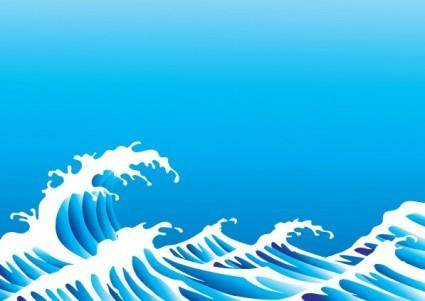 free vector Wave vector 3