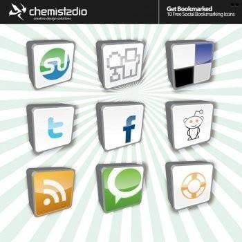free vector Social Bookmark Vector Icons, rss vector icon, facebook vector icons, twitter vector icon, stumbleopen vector icon, adobe illustrator ai icon