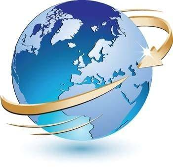 3d globe vector icon, earth globe vector ai, adobe photoshop illustrator globe ai design, blue marbel vector ai illustrator