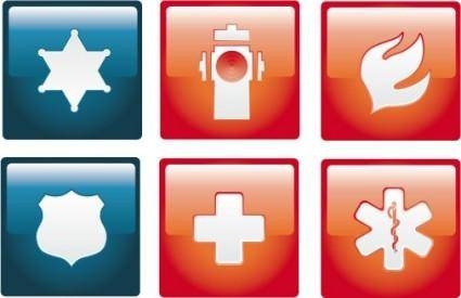 Emergency Icon Set