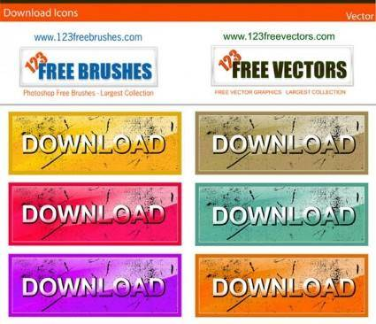 free vector Download icons