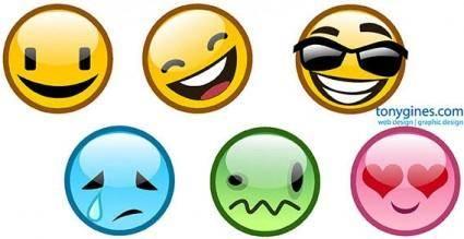 free vector Emoticons vector