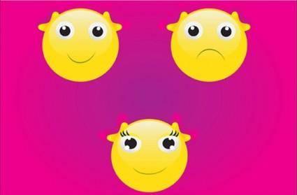 free vector Smiley Face Vector