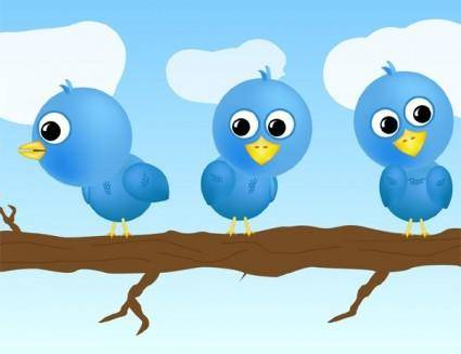 Free Twitter Vector Set