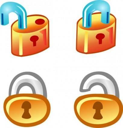 free vector Free Vector Lock Icons