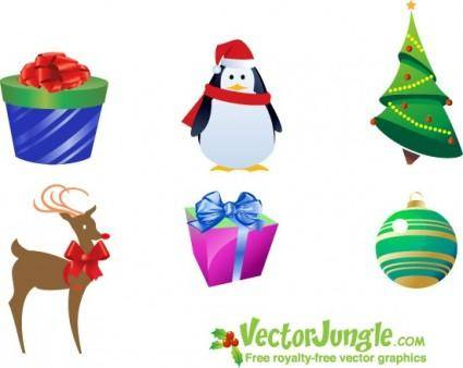 free vector Christmas Icon Pack
