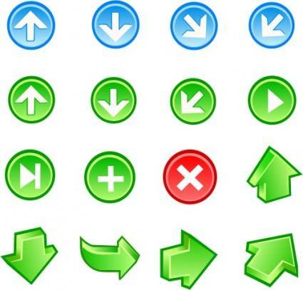 free vector Free Vector Arrow Icons