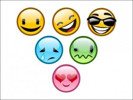 free vector Vector Smiley Pack