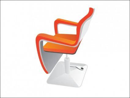 free vector Hairdressing Seat