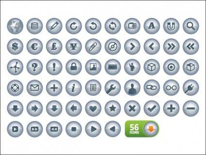 free vector N-Chrome Icons V2.0
