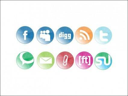 free vector Web 2.0 Icons