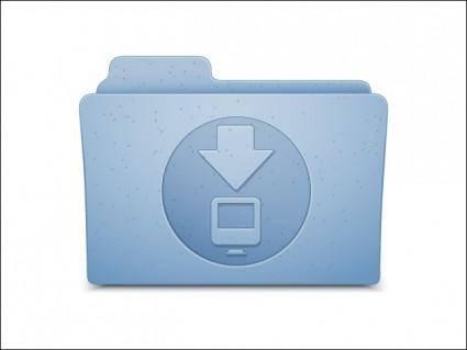 free vector OSX Download Folder