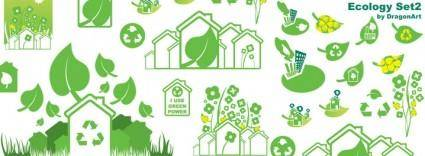 free vector Ecology Icons 2