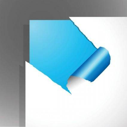 free vector Torn paper vector 4
