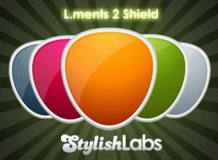 free vector Shields colorfull icon