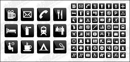 Common instructions living icon vector