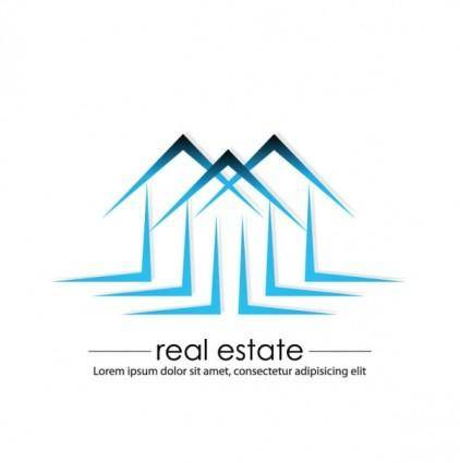 Construction and real estate simple pen drawing 04 vector