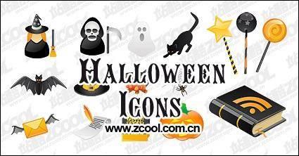 Halloween icon vector material