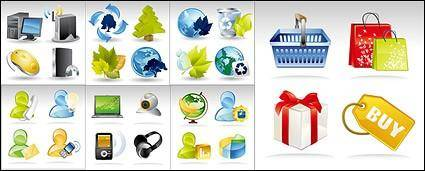 free vector Shoping