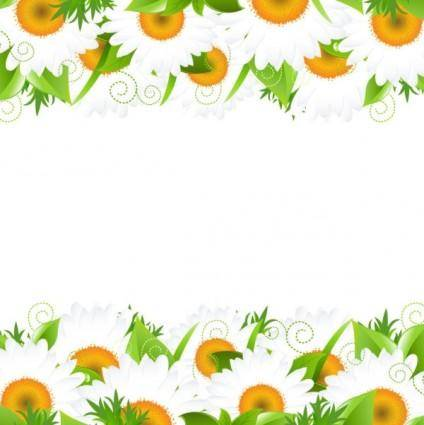 free vector Flowers petals lace background 01 vector