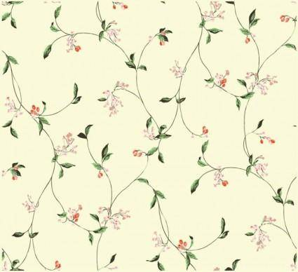 free vector Simple and elegant flower pattern background vector