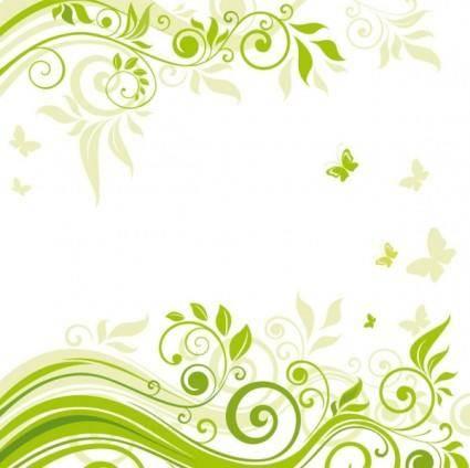free vector Beautiful flowers illustration background 02 vector