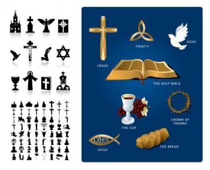 Religious theme vector