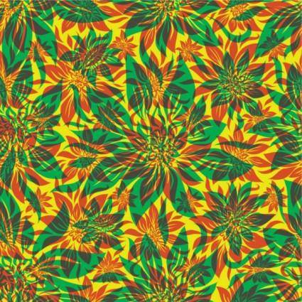 Flowers shading patterns 03 vector