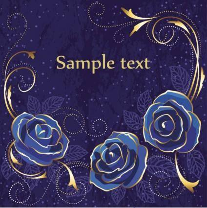 free vector Flower background 04 vector