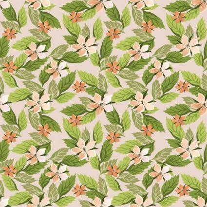 free vector Pretty flower background vector 1