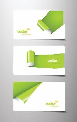 free vector Beautiful card template 05 vector