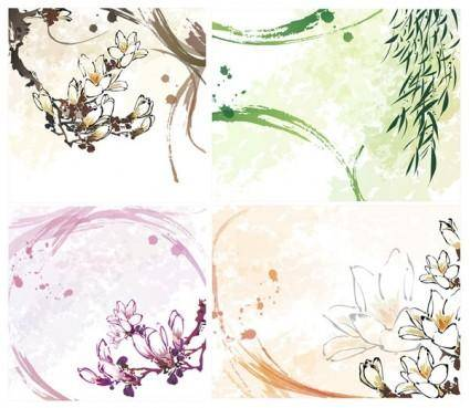 free vector Dream flowers vector 9